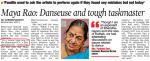 Maya Rao: Daneseuse and tough taskmaster
